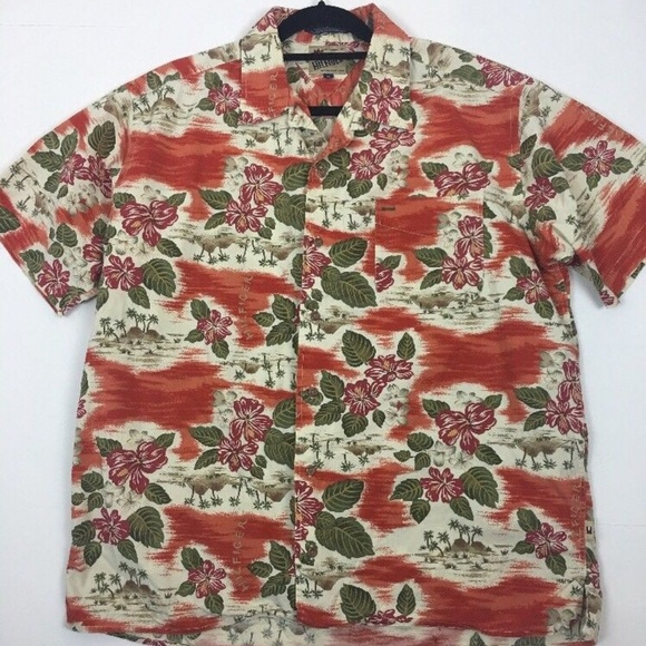5a9eb7e3 Tommy Hilfiger Shirts | Vintage Original By Hilfiger Hawaiian Cotton ...